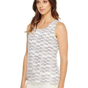 NIC AND ZOE LITTLE LINES TANK TOP